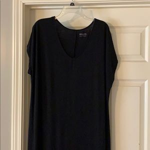 Black t shirt maxi dress